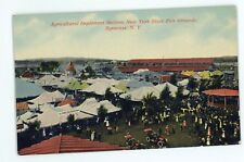 Agricultural Implements Advertising New York State Fair SYRACUSE NY Postcard