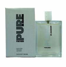 PURE FOR MEN BY JIL SANDER EAU DE TOILETTE NATURAL SPRAY 100 ML/3.4 FL.OZ. (T)