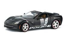 2014 Corvette Stingray Police 1:18  Car Maisto Special Edition, New
