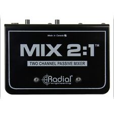 Radial Engineering Mix 2:1 Two Channel Audio Combiner & Mixer
