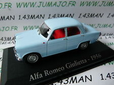 voiture 1/43 RBA Italie IXO : ALFA ROMEO Giulietta 1956