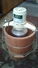 Vintage White Mountain 6 Qt. Model 69204 Electric Ice Cream Freezer Maker