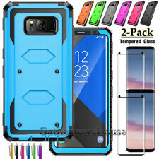 For Samsung Galaxy S8/S9 Plus Shockproof Hybrid Phone Case With Screen Protector