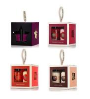 Body Shop Cube BIRTHDAY Gift Set SHEA COCONUT MANGO WHITE MUSK & Lily Scrunchie