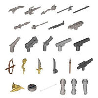 LEGO Minifigure Weapon Accessories (Choose Weapon)