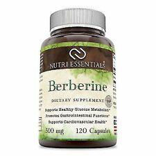 Nutri Essentials Berberine Dietary Supplement - 500mg, 120 Capsules