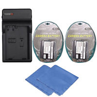 2x EN-EL15 Replacement Battery for Nikon D7100, D750, D7000, D7200, D810, D610..