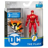 """Spin Master DC Heroes Unite 4"""" Action Figure THE FLASH 1st Edition New Sealed"""