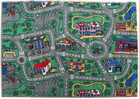 Play Mat Children's Floor Mats New CITY ROADS Car Baby Kids Room Rug 100 x 150cm