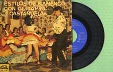 guitarras y castañuelas archiv famenco regal sedl 19207 press spanien 1958 ep ex
