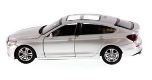 BMW 5 Series GT Silver 1:24 Collectable Diecast Car Model by Motormax 73352
