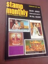 Stamp Monthly Stanley Gibbons Magazine February 1977 Silver Jubilee