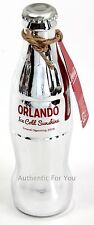 NEW Coca Cola Store Orlando Disney Springs Silver Limited Edition Bottle LE 500