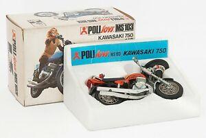 Modellino Politoys Kawasaki 750 MS103 scala 1/15 (Made in Italy)