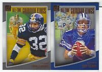 2018 Panini Donruss Football ALL-TIME GRIDIRON KINGS COMPLETE YOUR SET You Pick!