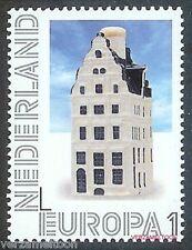 NVPH 2898  PERSOONLIJKE POSTZEGEL 2012: DELFTS BLAUWE KLM-HUISJES EUROPA 1 pf.