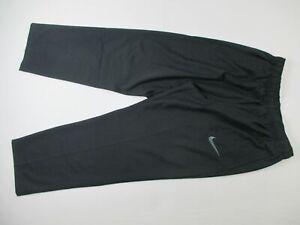 Nike Athletic Pants Men's Black Dri-Fit NEW XL