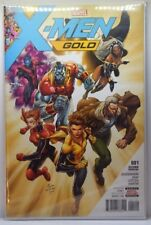 X MEN GOLD #1 - #6 CONTROVERSIAL KEY ISSUE 1st PRINT NM SET 9.6 - 9.8