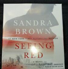 Seeing Red by Sandra Brown (2017, CD, Unabridged)