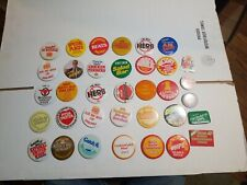 Vintage 70s 80s 90s Burger King Button Lot of 35 Employee Promotional Pins