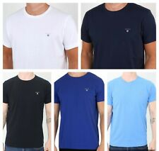 GANT THE ORIGINAL Mens' T-Shirt, Crew Neck, Pure Cotton, Short Sleeve, All Sizes