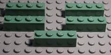 Lego Stein 1x4 Sandgrün 5 Stück                                           (2847)