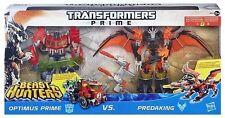 Transformers Prime Beast Hunters * OPTIMUS PRIME VS PREDAKING - Exclusive Europe