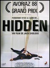 HIDDEN Affiche Cinéma / Movie Poster Jack Sholder AVORIAZ 1988