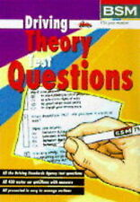 Driving Theory Test Questions, British School of Motoring, Used; Good Book