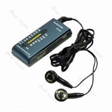 AM/FM 2 Band Pocket Radio Receiver +Earphone B New Portable