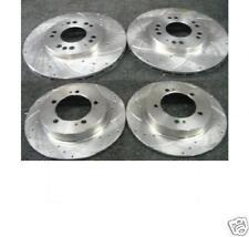 Pair Solid fits MITSUBISHI FTO DE3A 2.0 Rear 94 to 01 262mm Set 2x Brake Discs
