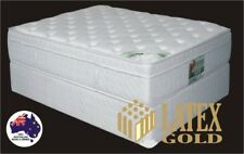 DOUBLE Latex Gold Luxury Pillow Top Mattress