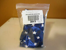 LONGABERGER 2001 SHINING STAR AMERICAN PRIDE  FABRIC LINER NEW IN THE BAG