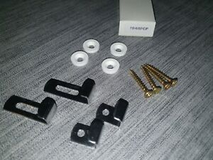 Mirror Clip Set, Moore's super clips bottom and side clips, complete with screws