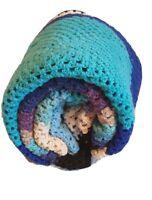 Crochet Handmade large throw Blanket granny Hampton French provincial 160x230cm