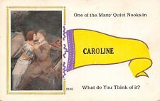 """""""Many Quiet Nooks"""" in Caroline WI? MD?~What Do You Think of It? 1915 Pennant PC"""