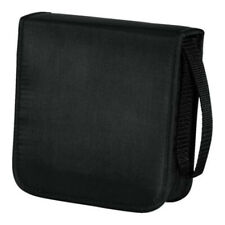 Black Oxford Cloth Storage Case Holder For CD DVD Discs Protective Carry Wallet