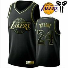 Kobe Bryant #24 Los Angeles Lakers Basketball JERSEY Costume Top Singlet Mens