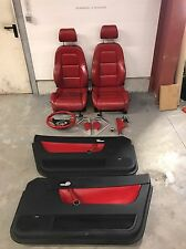 Audi TT 8N Roadster Innenausstattung Leder Rot Sitze Komplettset Lenkrad