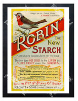 Historic Robin Starch, Reckitt & Sons 1899 Advertising Postcard