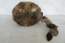 Vintage  Fox Genuine Fur Hand Warmer Muff