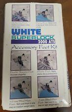 White Superlock Sewing Machine 2000 ATS Accessory Feet Kit
