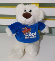 GLORIOUS BRITAIN PROMOTIONAL TEDDY BEAR PLUSH TOY SOFT TOY 21CM TALL