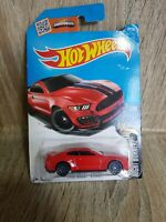 MATTEL HOT WHEELS DHX25 FORD SHELBY GT350R NIGHT BURNERZ 7/10 2015