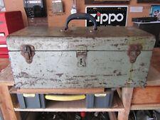 More details for vintage craftsman metal toolbox