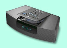 Bose Wave Radio AM/FM CD Player/Alarm Clock also for iPhone/iPod-Graphite-AWRC1G