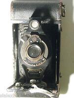Antique Eastman Kodak No 2A Folding Cartridge Hawkeye Model B Camera