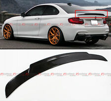 2014-2016 BMW F22 M235i 220i 228i Carbon Fiber HighKick Style Big Trunk Spoiler
