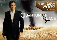 Quantum of Solace DVD with Calendar, 2009 (N8)