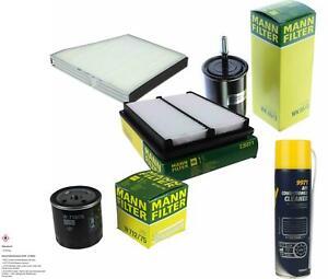 Mann Filter Package mannol Air Conditioning Cleaner Daewoo Nubira Klaj 2.0 16V
